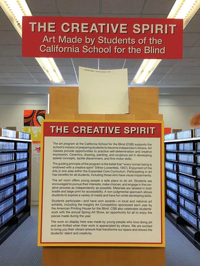 The Creative Spirit Art CA School For The Blind Adorable California Interior Design Schools Creative